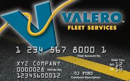 valero fleet services card