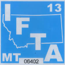 IFTA Decal